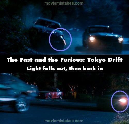 The Fast and the Furious: Tokyo Drift movie mistake picture 3