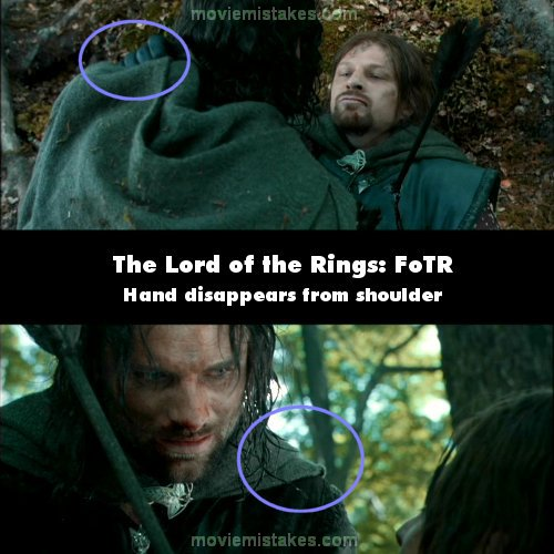Lord Of The Rings Bread Scene