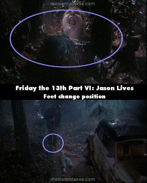 Friday The 13th Part Vi Jason Lives 1986 Movie Mistakes