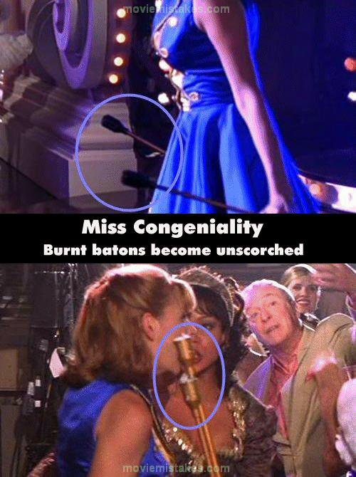 Miss Congeniality movie mistake picture 6