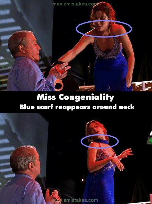 Miss Congeniality movie mistake picture 27